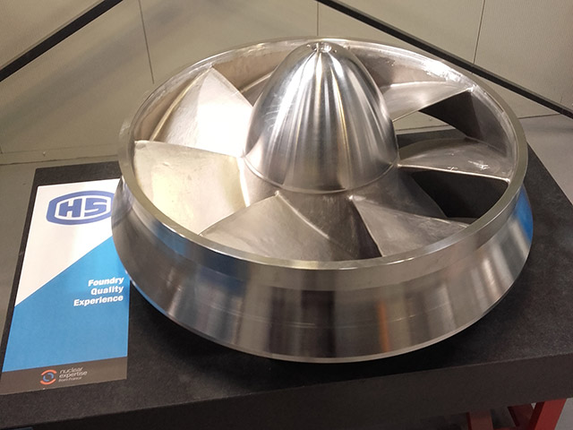Impeller ASTM A 890 4A