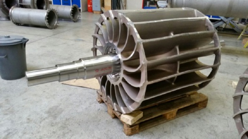 Impeller vaccum pump ASTM A 890 5A