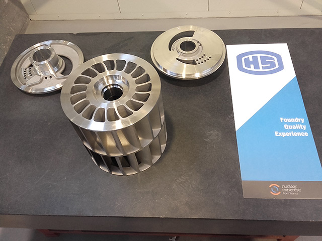 Distributor+impeller Z3CND19.10-M